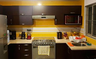 Color en tu cocina.